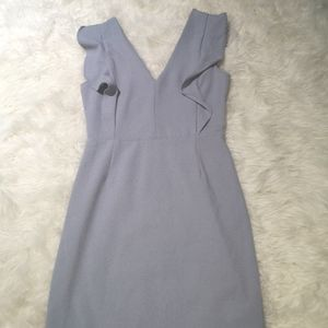 Periwinkle form fitting dress